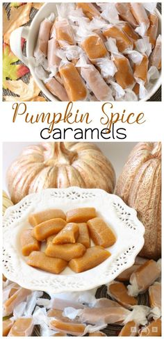 Made in the MICROWAVE!! These Pumpkin Spice Caramels have the most incredible flavor and couldn't be easier to make! Butter With A Side of Bread