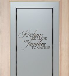 Pantry Doors With Glass   Customize Everything About Your Glass Pantry Door!  Quality, Custom Designs, ANY DECOR! Slab, Pre Hung Or Glass Only!