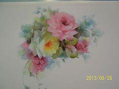 Helen Humes Porcelain Art Set 12 Blank Cards 6 Designs   eBay