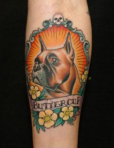 dog tattoo virgin de guadalupe style   Russ Abbott of Ink & Dagger Tattoo Parlour in Decatur, Georgia one of the nicest ones I've seen