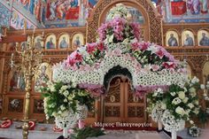 Church Flowers, Russian Orthodox, Friday, Google Search, Floral Arrangements