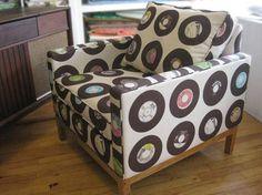 Vinyl Print Chair
