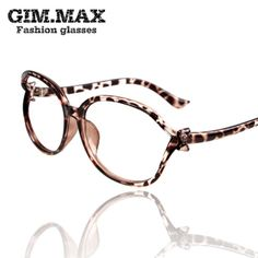 7e4919fc30 Aliexpress.com   Buy Gimmax glasses leopard print Women lenses eyeglasses  frame bow glasses from Reliable rayban sunglass suppliers on Online Store  715922.