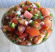 How to remove Salsa stains