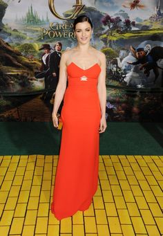 Pin for Later: 51 Times Starlets Wowed in Scarlet on the Red Carpet Rachel Weisz