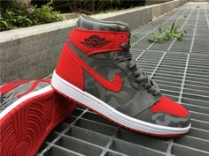 new styles 31766 c55d7 Air Jordan 1 P51 Camo University Red For Sale Discount Shoes Online,  Discount Sneakers,