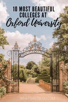 Oxford University boasts many magnificent buildings but which are the best and most beautiful colleges? Here are the top, according to an Oxford student! Oxford Student, Oxford College, Amazing Destinations, Vacation Destinations, Dream Vacations, University Dorms, University Guide, Most Beautiful, Beautiful Places