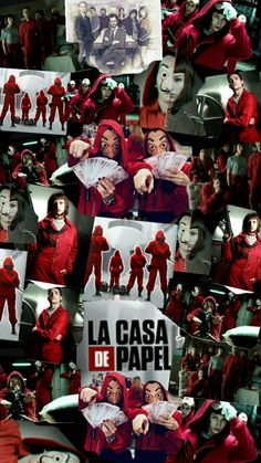 Wallpaper La Casa de Papel