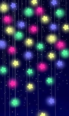 25 Cutest iPhone X Wallpaper Case Cover Ever - Christmas Colorful Stars Handy Wallpaper, Neon Wallpaper, Kawaii Wallpaper, Tumblr Wallpaper, Cellphone Wallpaper, Wallpaper Iphone Cute, Colorful Wallpaper, Screen Wallpaper, Mobile Wallpaper