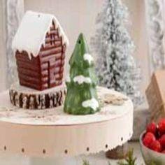 Hallmark 2012 Christmas DIR 526 Pine Tree and Cabin Salt & Pepper Set by Imports. $11.64. Hallmark Ceramic Pine Tree and Cabin Salt and Pepper Set