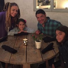James Hetfield Daughter | James Hetfield and family at the ...