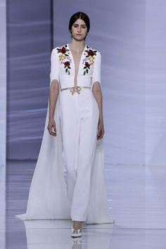 Georges Hobeika Couture Fall Winter 2015 Paris - NOWFASHION