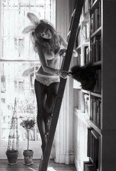 Bookish Playboy bunny