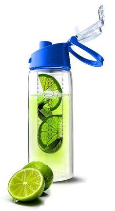 Fruit Infusing Water Bottle ♡ #yoga #exercise #healthy #workingout