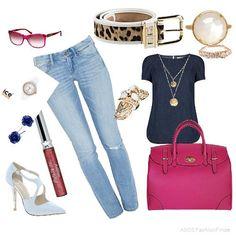 Pinked Denim | Women's Outfit | ASOS Fashion Finder