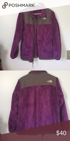 North Face jacket Purple North Face jacket. Girls XL, fits a women's small/medium North Face Jackets & Coats