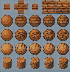 "Marmontel Boris en Twitter: ""Tutorial: How to draw wood #gamedev #indiedev…"