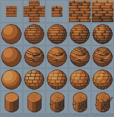 """Marmontel Boris en Twitter: """"Tutorial: How to draw wood #gamedev #indiedev…"""