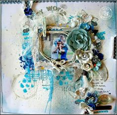 January's BAP layout by Felicity Wilson! #PPP #colorpalette #challenges