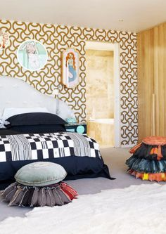 Limited Edition - this family home is a shining example of unique South African design. African Interior Design, South African Design, Love Your Home, Couch, House And Home Magazine, Retro, Black House, Master Bedroom, Home And Family