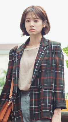 Hundred Million Stars from the Sky (하늘에서 내리는 일억개의 별) - Drama - Picture Gallery Korean Celebrities, Celebs, Short Hair Outfits, Dramas, Shot Hair Styles, Jung So Min, Modern Hairstyles, Korean Actresses, Korean Beauty