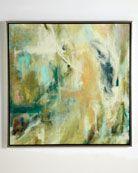 "John-Richard Collection ""Slickers"" Abstract Painting - Neiman Marcus"