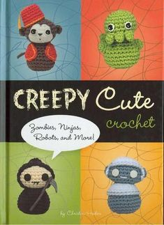 creepy cute crochet, Free book