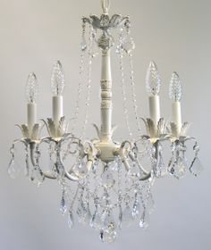 Bella Rose Chandelier- Romantic Shabby Chic style available in 3 sizes and many finishes, custom made for you. Romantic Shabby Chic, Shabby Chic Style, Shabby Chic Lighting, Vintage Candle Holders, Chandelier Shades, China Patterns, Sconce Lighting, Girl Nursery, Crystal Beads