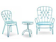 Alessandra Baldereschi patio chairs