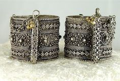 Antique Silver Jewelry from Yemen and Turkmenia