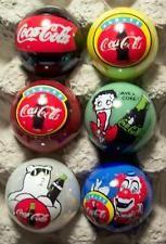 6 Coca Cola Marbles Coca Cola Bottles, Pepsi Cola, Cocoa Cola, Coca Cola Decor, Coca Cola Christmas, Christmas Tree Lots, Always Coca Cola, Vintage Coke, Soda Fountain