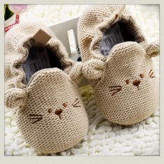 Infant Toddler Newborn Boy Girl Knitted Crib Shoes Baby Soft Sole Cartoon Elastic First Walkers Toddler Outfits, Kids Outfits, Cartoon Shoes, Baby Net, Newborn Shoes, Baby Newborn, Boy And Girl Cartoon, Baby Shop Online, Baby Mouse
