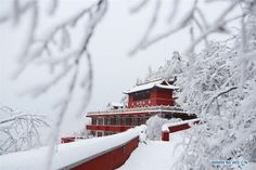 Stunning scenery of Panshan Mountain after snowfall in Tianjin - China.org.cn