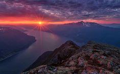 Haakon Nygaard photography norway landscape colour sunset