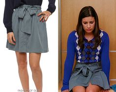 Forever 21 Button Up Skirt - No longer available Worn with: J. Crew cardigan