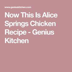 Now This Is Alice Springs Chicken Recipe - Genius Kitchen