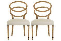 Bracelet Side Chairs