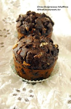 Oreo Espresso Muffins from @Anuradha | Baker Street