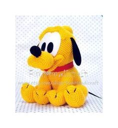 Disney Pluto Baby Amigurumi Pattern E-book in PDF von FunHandicraft