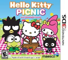 Help Hello Kitty and Sanrio friends prepare for their picnic in the park in this fun collection of 10 mini-games! Collect all your picnic goodies and decorate f Fun Games For Kids, Games For Girls, Hello Kitty Games, Nintendo 3ds New, Hello Kitty Bedroom, Hello Kitty Characters, 3d Mode, Game Sales, Mini Games