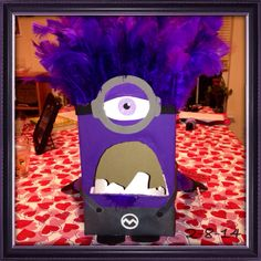 evil minion valentines day box