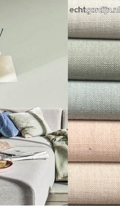Room Colors, Colours, Mood Board Interior, Paint Combinations, House Inside, Colorful Curtains, Window Coverings, Slipcovers, Kids Room