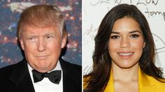 "America Ferrera Writes ""Thank You"" Letter to Donald Trump for ""Ignorant and Racist"" Speech.... The Hollywood Reporter -  THR Staff"