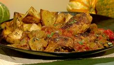 the chew - Stanley Tucci's Roasted Potatoes With Rosemary.  Serve with Stanley Tucci's Chicken Cacciatore