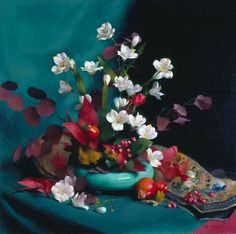 Painting by Mary Minifie. Still Life