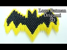 Escudo De Batman Origami 3D TUTORIAL - YouTube