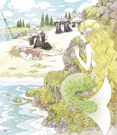 The Little Mermaid by Makoto Takahashi [©2014]