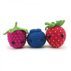 Very Berry Trio amigurumi pattern - Amigurumipatterns.net
