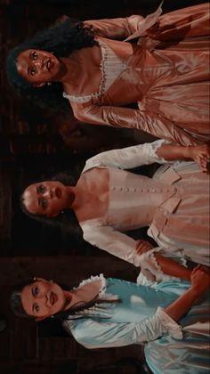 Hamilton Broadway, Hamilton Musical, Theatre Nerds, Musical Theatre, Theater, Hamilton Schuyler Sisters, Sister Wallpaper, Hamilton Wallpaper, Eliza Schuyler