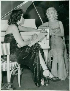 Sur le tournage de Gentlemen scène 4 - Divine Marilyn Monroe